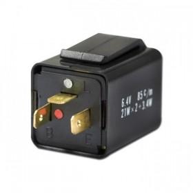 Univerzální přerušovač blinkrů, třípólový, 6V / 10-21W x 2 + 3,4W