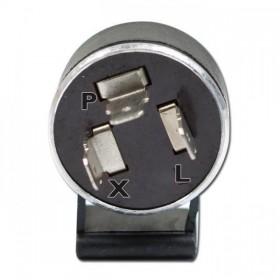 Univerzální mechanický přerušovač blinkrů, třípólový, 6V / 17W x 2 + 1,5W