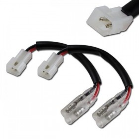 Aprilia, kabely s adaptérem pro připojení blinkrů, (pár-2ks)