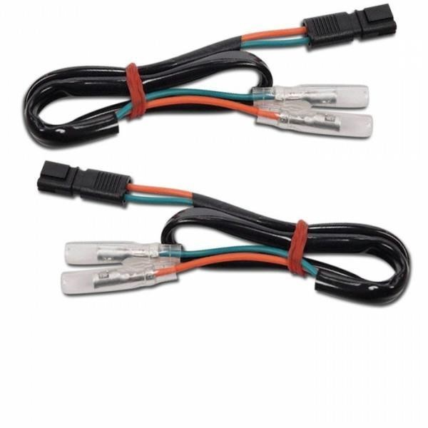 BMW, kabely s adaptérem pro připojení blinkrů, (pár-2ks)