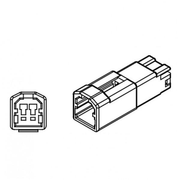 Ducati, kabely s adaptérem pro připojení blinkrů, (pár-2ks)