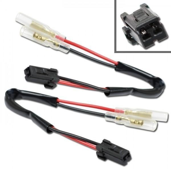 Harley Davidson, kabely s adaptérem pro připojení blinkrů, (pár-2ks)