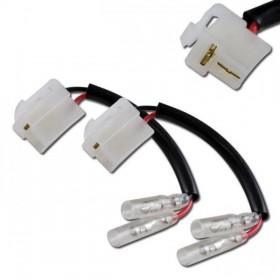 Yamaha MT-07 / MT-09 (2014-2016), kabely s adaptérem pro připojení blinkrů, (pár-2ks)
