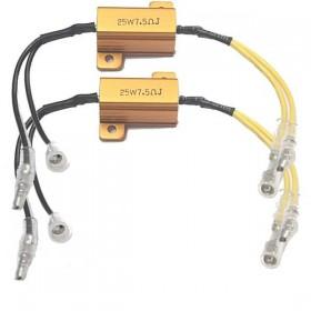Odpory 7,5 Ohm / 25W pro úpravu frekvence blikání LED blinkrů, (par - 2ks)