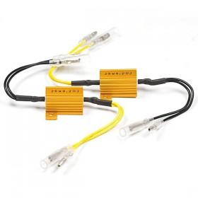 Odpory 8,2 Ohm / 25W pro úpravu frekvence blikání LED blinkrů, (par - 2ks)