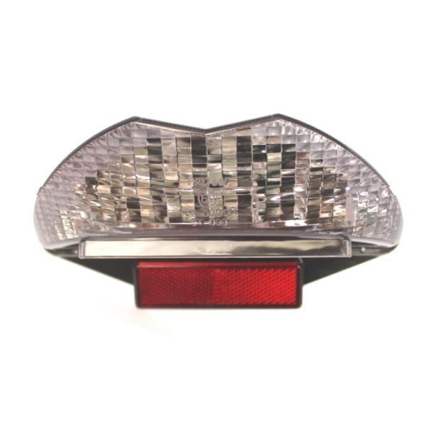 LED zadní světlo BMW F/G 650, F800 S, R1200 GS, kouřové