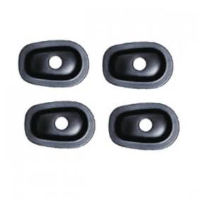Yamaha, plastové černé krytky otvorů po demontáži originálních blinkrů, (4ks)