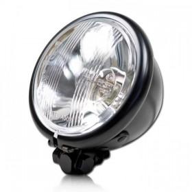 """Přední hlavní světlo BATES STYLE s parkovacím světlem, 4 1/2"""", černé"""