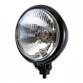 """Přední hlavní světlo BATES STYLE s parkovacím světlem, 5 3/4"""", H4, černé"""