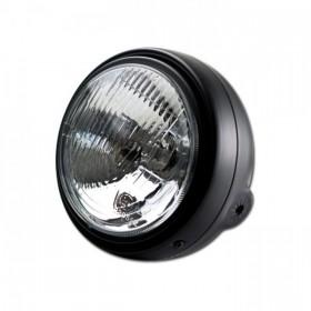 """Přední hlavní světlo BULLET s parkovacím světlem, 5 3/4"""", H4, černé"""