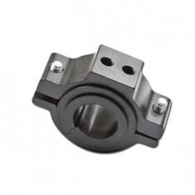 Univerzální držák předního světla na přední vidlici Ø 22 - 36 mm, hliníkový, černý, (1ks)