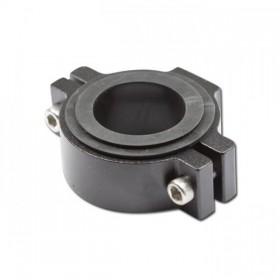 Univerzální držák předního světla na přední vidlici Ø 36 - 54 mm, hliníkový, černý, (1ks)
