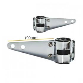 Univerzální držáky předního světla na přední vidlice Ø 30-38 mm, chromované, (pár-2ks)