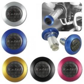 """Hliníková zavažíčka KEITI, do řidítek 7/8"""" (22mm), různé barvy, (pár-2ks)"""