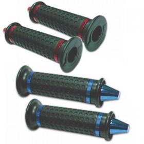 """Rukojeti KONIK gumové, 7/8"""" (22mm), délka 122mm, různé barvy, (pár-2ks)"""