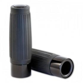 """Rukojeti CUSTOM gumové, 1"""" (25mm), délka 125mm, různé barvy, (pár-2ks)"""
