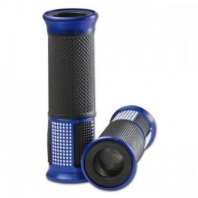"""Rukojeti ALU 5, hliník / guma, 7/8"""" (22mm), délka 120 mm, otevřené konce, (pár-2ks)"""