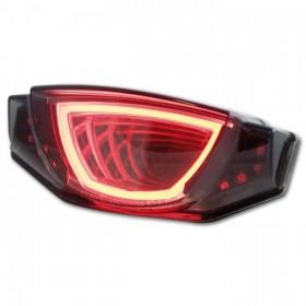 LED zadní světlo Ducati Scrambler 800, s integrovanými blinkry, kouřové