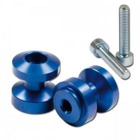 Hliníkové rolny na kyvku, Ø 24,5mm, závit M6, eloxované různé barvy, (pár-2ks)