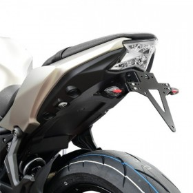 Držák SPZ Kawasaki Z650 / Ninja 650, (2017-2018), nastavitelný, černý