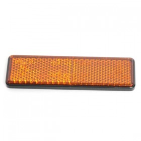 Oranžová odrazka 94 x 28 x 7 mm, samolepící
