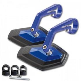 """Zrcátka DIAMOND, hliníková, na řídítka 7/8"""" (22mm) a 1"""" (25mm), různé barvy (pár - 2ks)"""