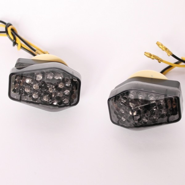 LED blinkry SUZUKI SMOKE, do kapotáže (pár - 2ks)