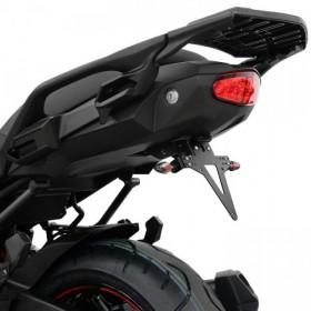 Držák SPZ Kawasaki Versys 1000 (2017-), nastavitelný, černý