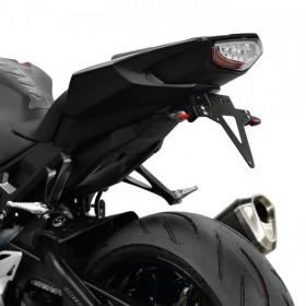 Držák SPZ Honda CBR 1000 RR / SP, (2017-), nastavitelný, černý