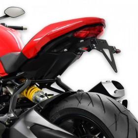 Držák SPZ Ducati Monster 1200 / S, (2017-), nastavitelný, černý