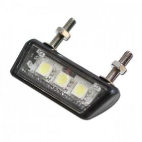 SMD LED osvětlení SPZ,  FORTY, černé, ABS plast, 47 x 10 x 17 mm