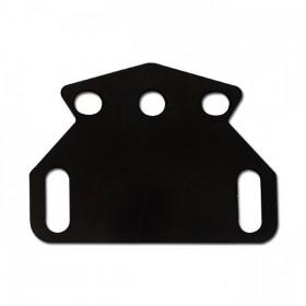 Držák pro LED osvětlení SPZ VENTO a DAIMOND, ocelový, černý