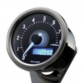 Otáčkoměr Daytona Velona 60, max. 8000 rpm, Ø 60mm, chromovaný