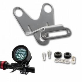 Hliníkový držák tachometru Daytona Velona 60 a LED kontrolek Daytona Alpha / Beta, stříbrný