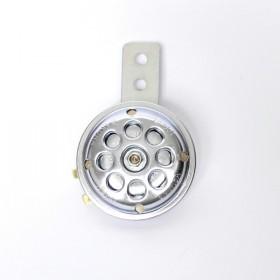 Klakson SMALL, Ø 65 mm, 6 V / 100 dB, stříbrný