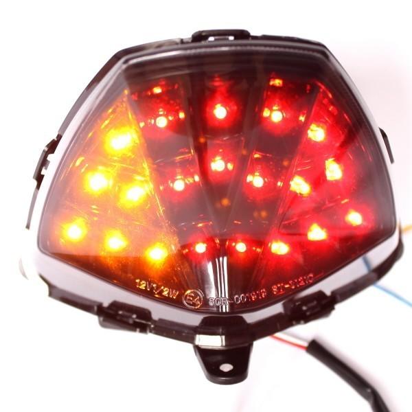 LED zadní světlo Honda CBR 125 R / 250 R (2011-2013), kouřové