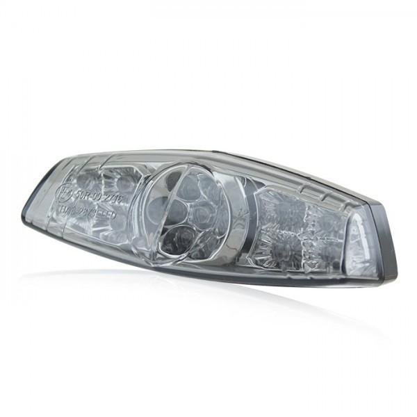 LED zadní světlo LUCAS STYLE, s osvětlením SPZ, kouřové