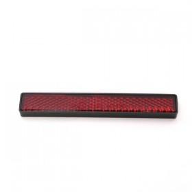 Červená odrazka STRIPE, 102 x 15 x 7 mm, samolepící, (1ks)