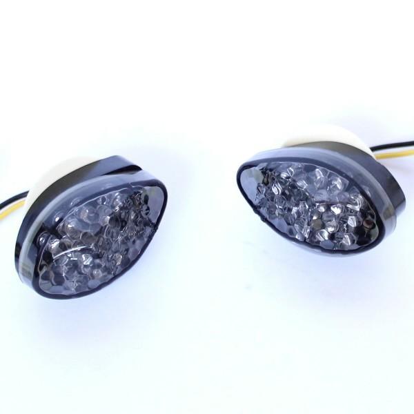 LED blinkry HONDA SMOKE, do kapotáže (pár - 2ks)