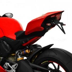 Držák SPZ Ducati Panigale V4 / V4 S, nastavitelný, černý