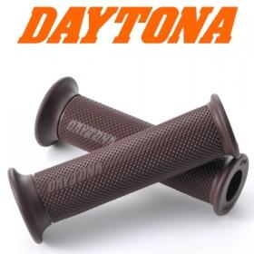 "Rukojeti D-GRIP BROWN gumové, 7/8"" (22mm), otevřené, délka 123mm, hnědé, (pár-2ks)"