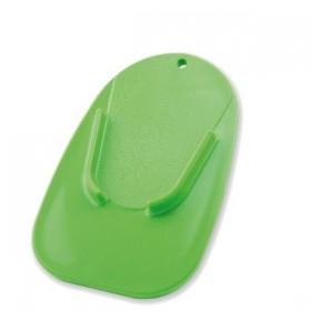 Plastová podložka COASTER pod boční stojánek, zelená (1ks)