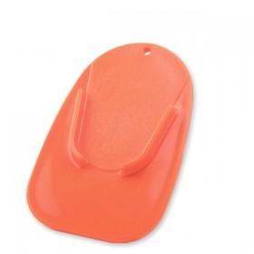 Plastová podložka COASTER pod boční stojánek, oranžová (1ks)