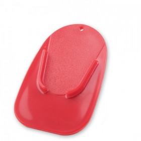 Plastová podložka COASTER pod boční stojánek, červená (1ks)
