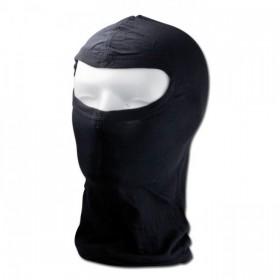 Hedvábná kukla pod helmu, černá