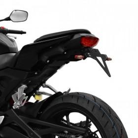 Držák SPZ Honda CB 125 R, (2018), nastavitelný, černý