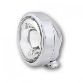 """LED přídavné tlumené světlo 4"""" (Ø 110 mm), kovové, chromované"""