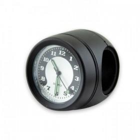 """Vodotěsné hodiny Quartz Ø 40 mm na řidítka 7/8"""" (22mm) a 1"""" (25mm), černé"""
