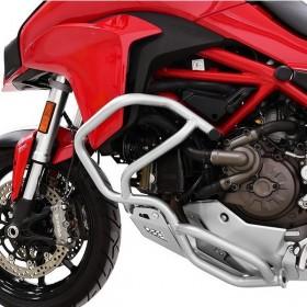 IBEX padací rám Ducati Multistrada 1200 / S (2015-2017), stříbrný (pár - 2ks)