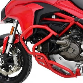 IBEX padací rám Ducati Multistrada 1200 / S (2015-2017), červený (pár - 2ks)